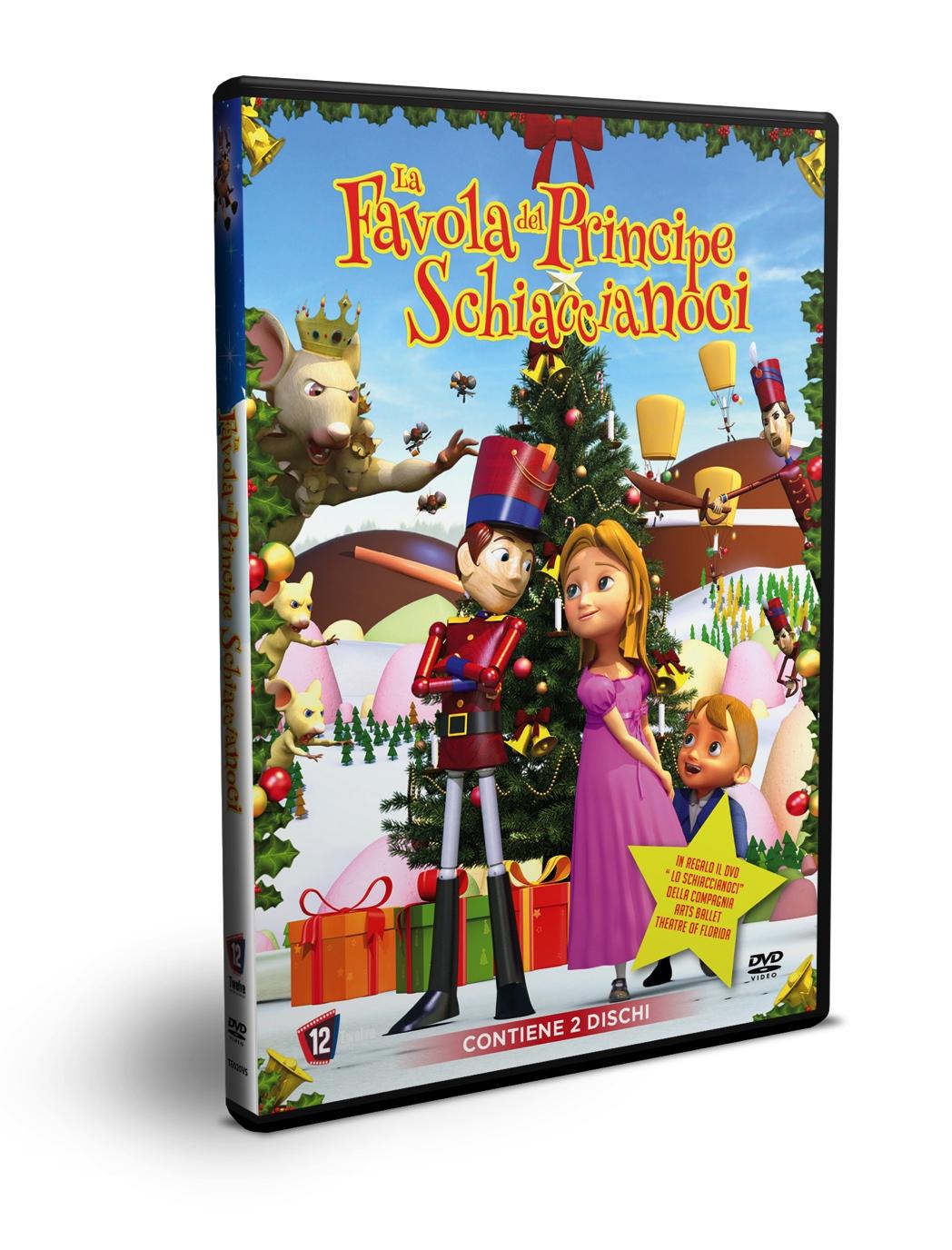 LA FAVOLA DEL PRINCIPE SCHIACCIANOCI (2 DVD) (DVD)