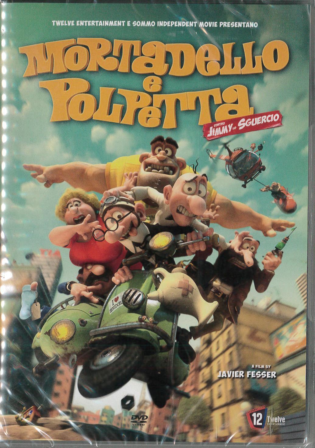 MORTADELLO E POLPETTA CONTRO JIMMY LO SGUERCIO (DVD)