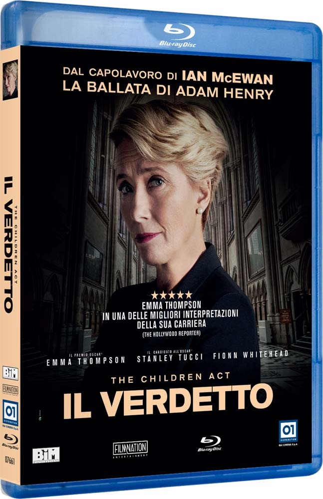 THE CHILDREN ACT - IL VERDETTO - BLU RAY