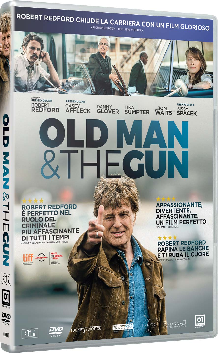 OLD MAN AND THE GUN (DVD)