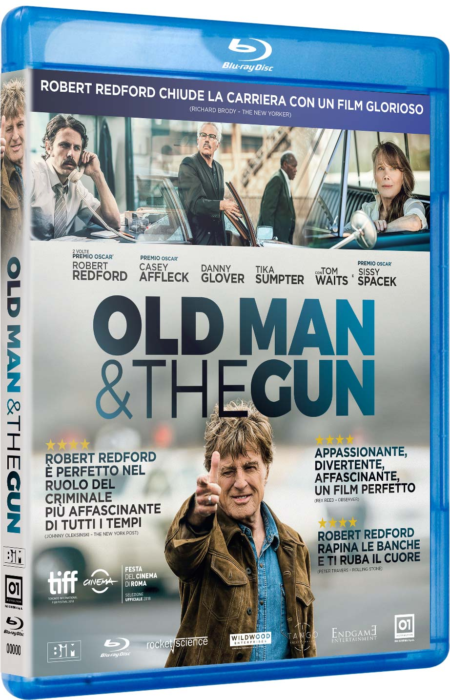 OLD MAN AND THE GUN - BLU RAY