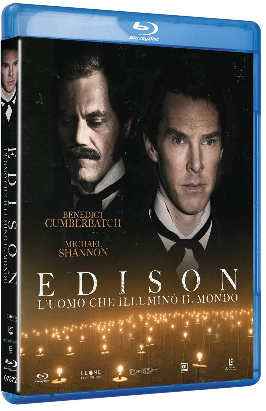 EDISON - L'UOMO CHE ILLUMINO' IL MONDO - BLU RAY