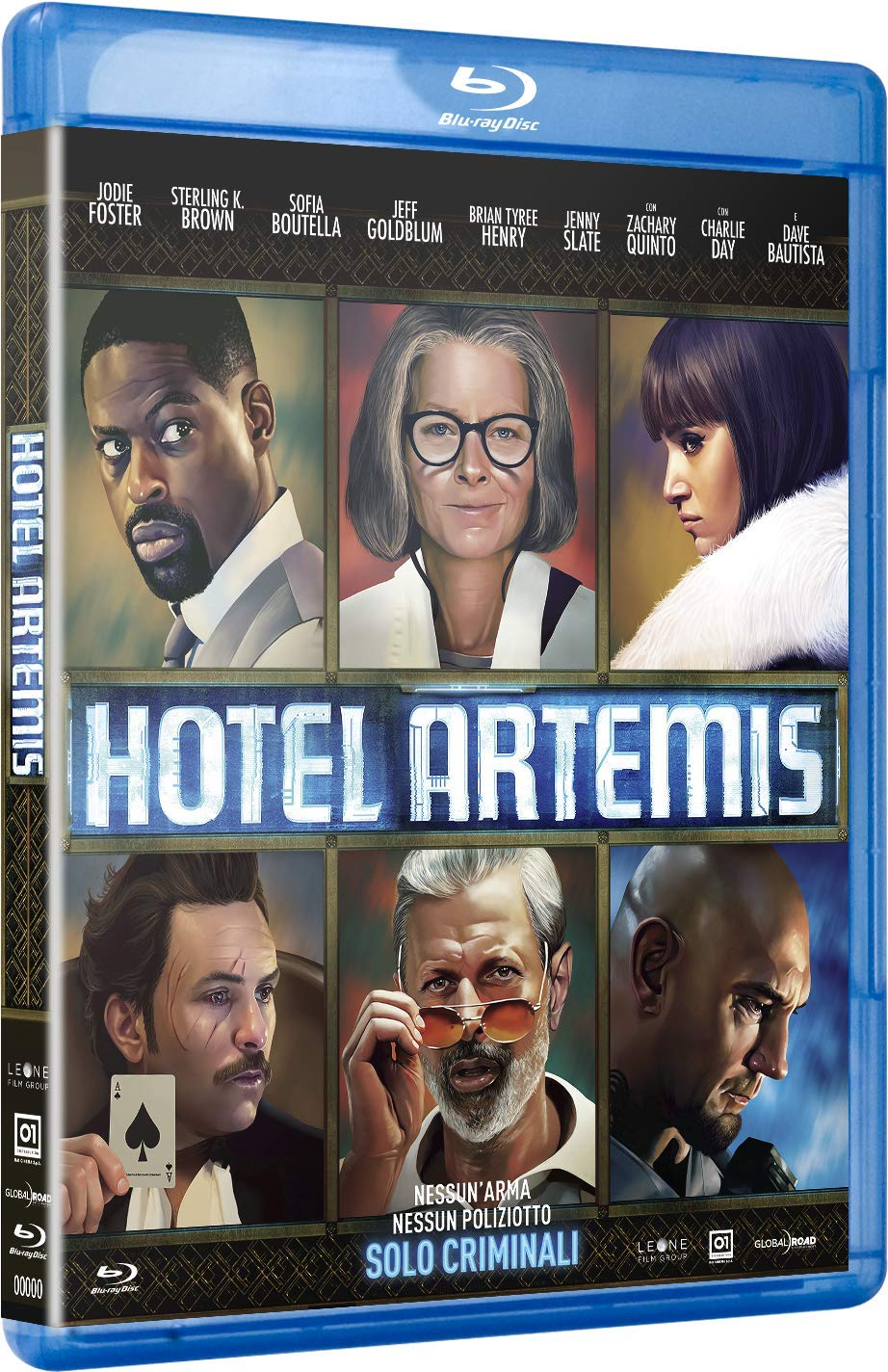 HOTEL ARTEMIS - BLU RAY