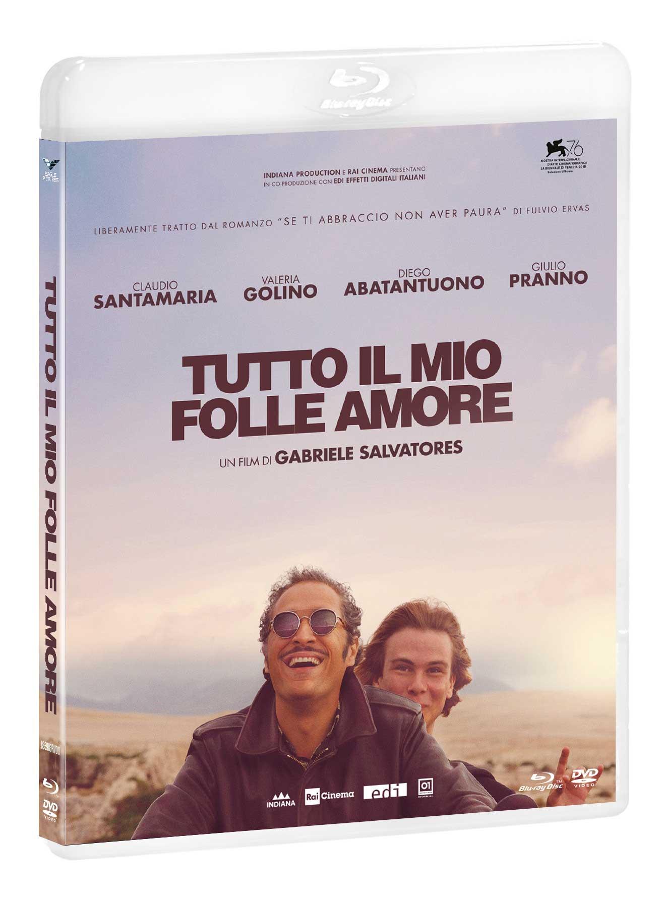TUTTO IL MIO FOLLE AMORE (BLU-RAY+DVD)