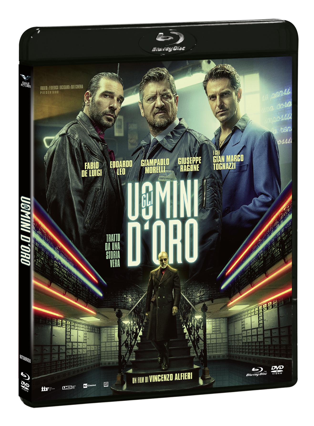 GLI UOMINI D'ORO (BLU-RAY+DVD)