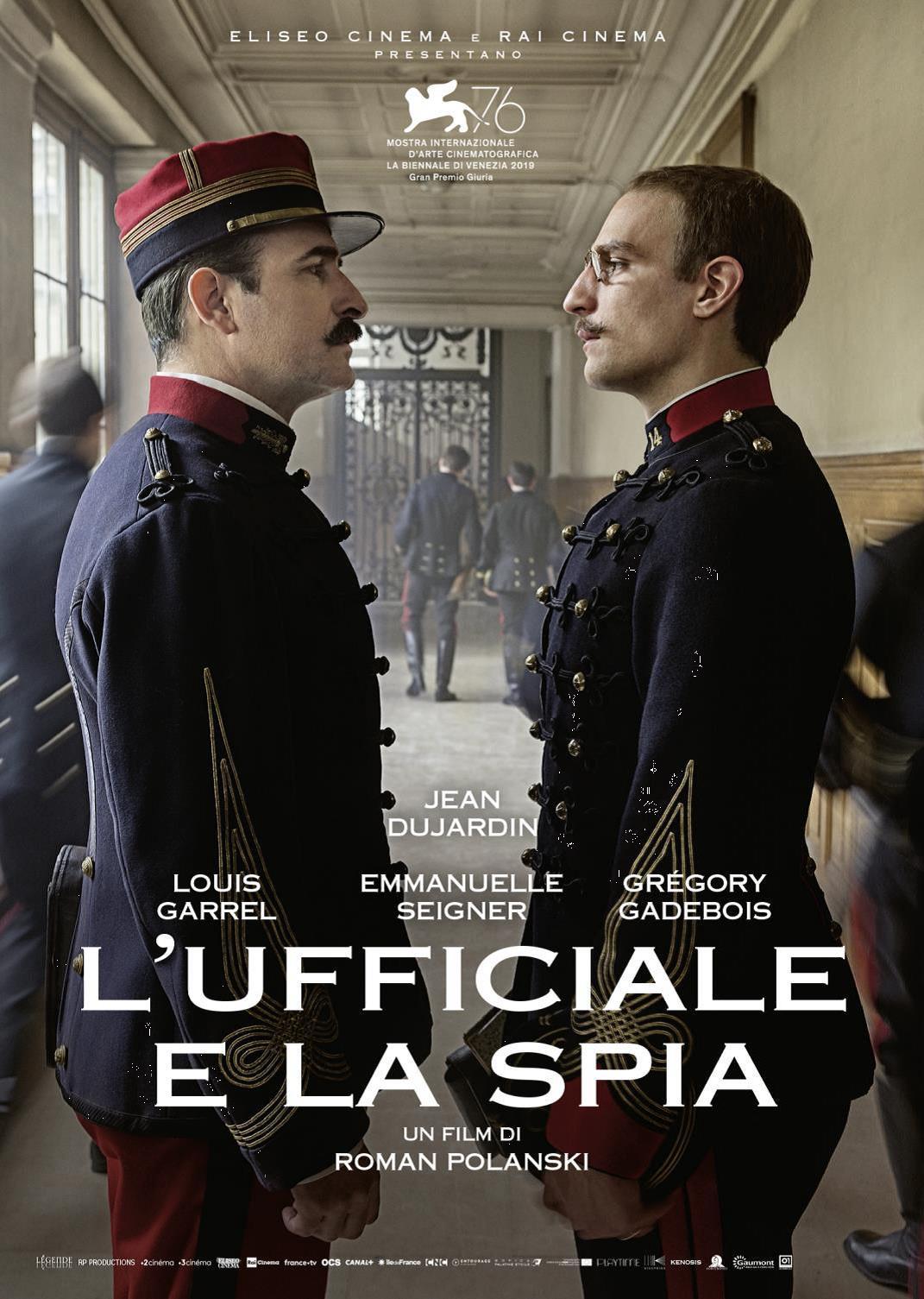 L'UFFICIALE E LA SPIA (DVD)