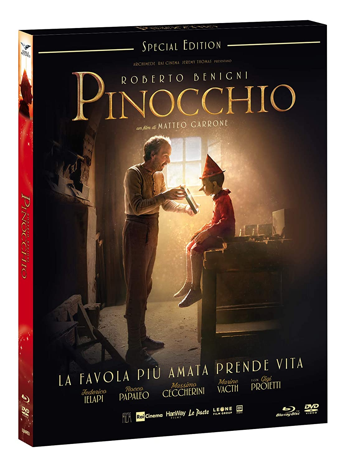 PINOCCHIO (BLU-RAY+DVD) (SPECIAL EDITION+CARD)