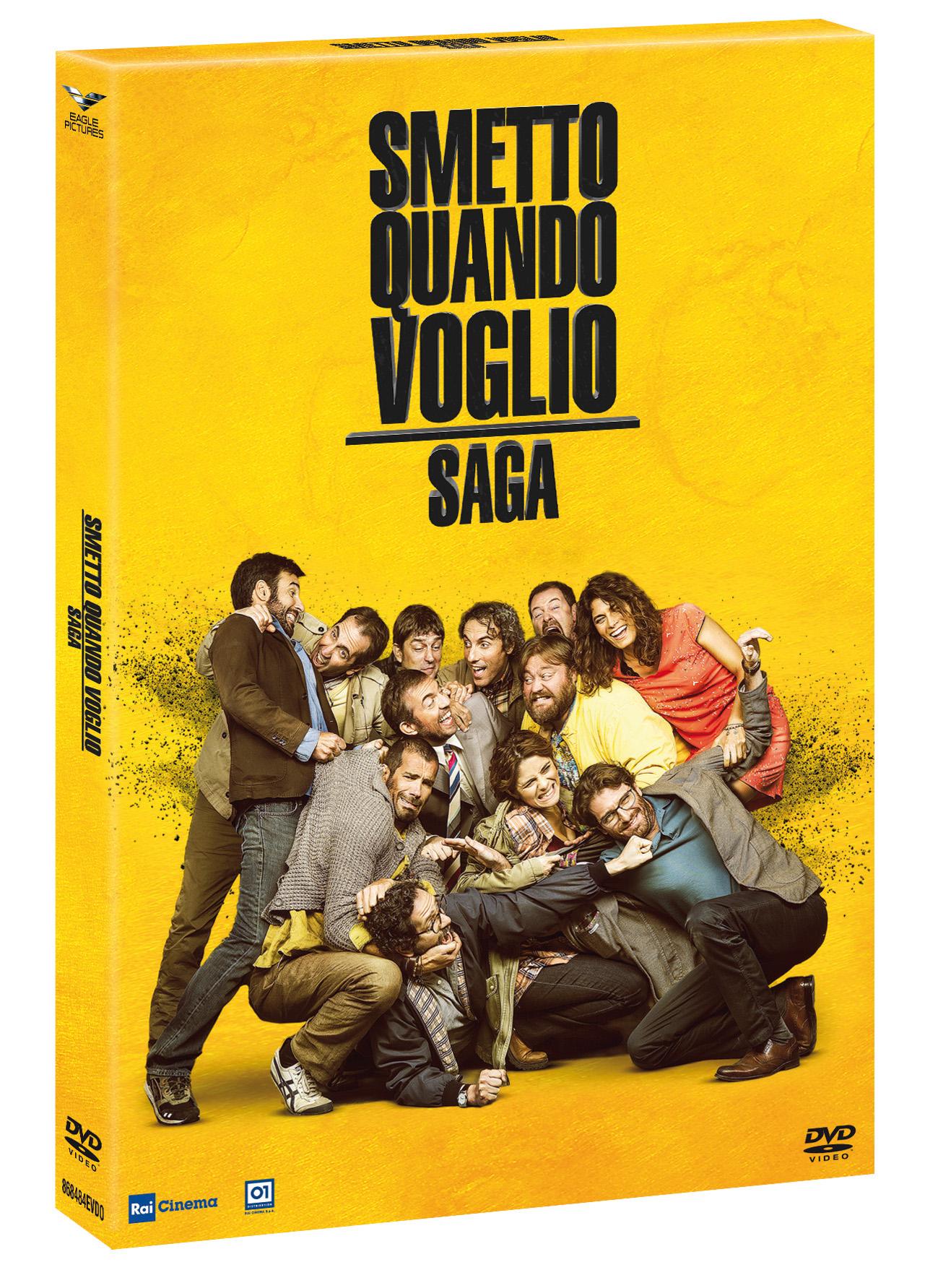 COF.SMETTO QUANDO VOGLIO SAGA (4 DVD+CARD DA COLLEZIONE) (DVD)