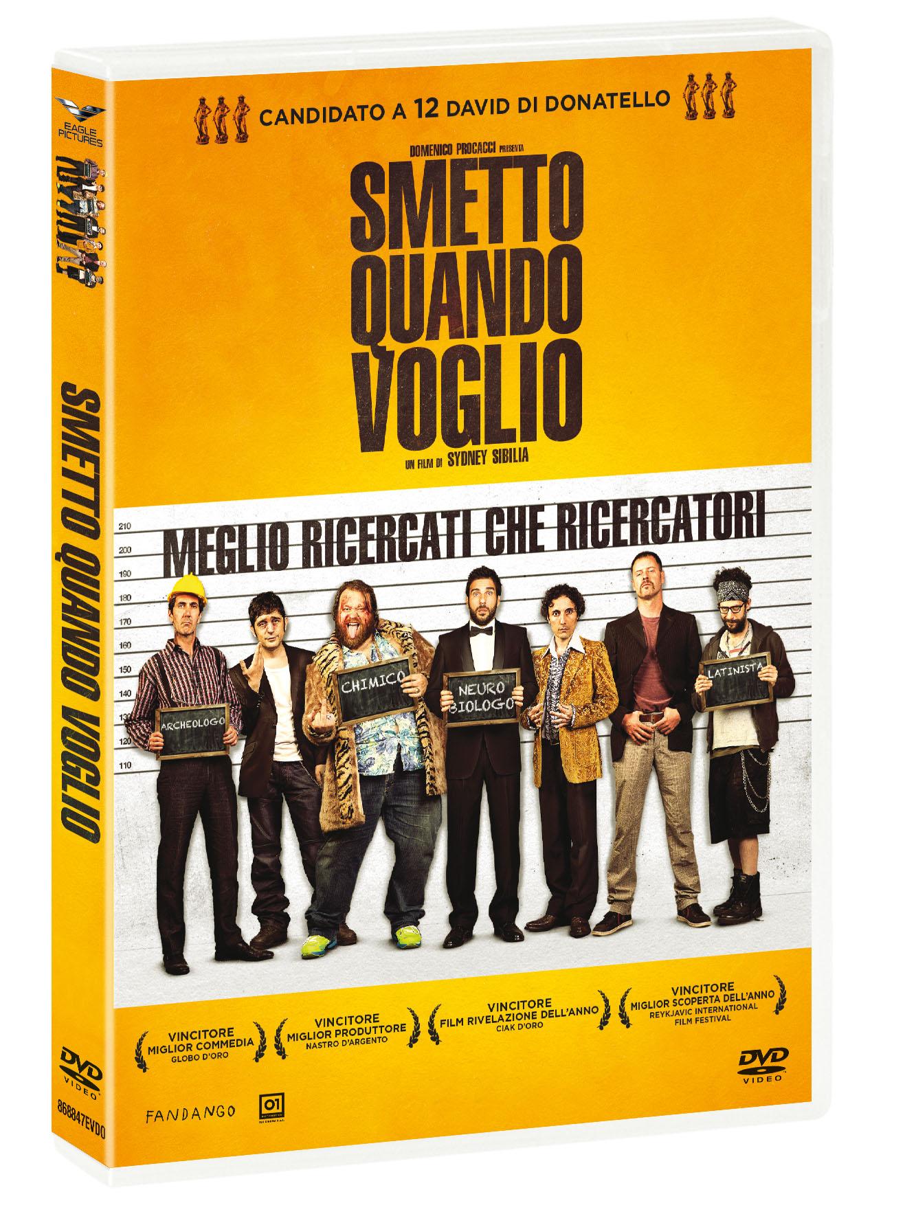 SMETTO QUANDO VOGLIO (DVD)