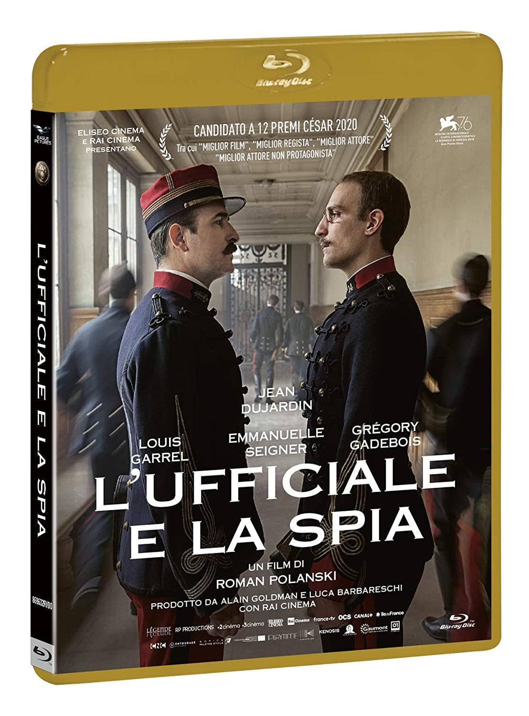 L'UFFICIALE E LA SPIA - BLU RAY