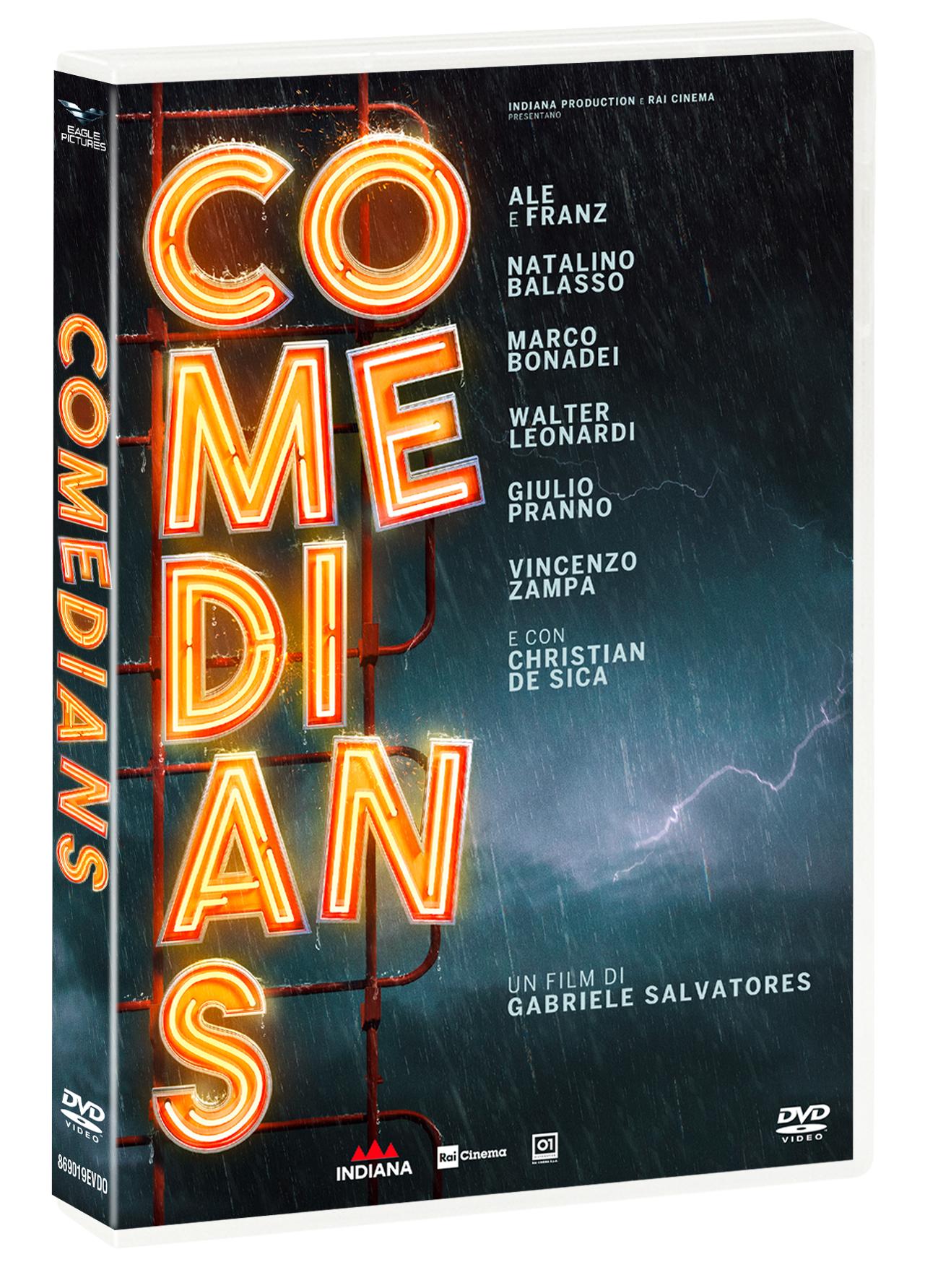 COMEDIANS (DVD)