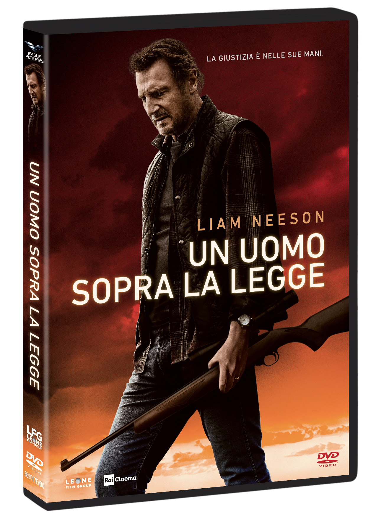 UN UOMO SOPRA LA LEGGE (DVD)