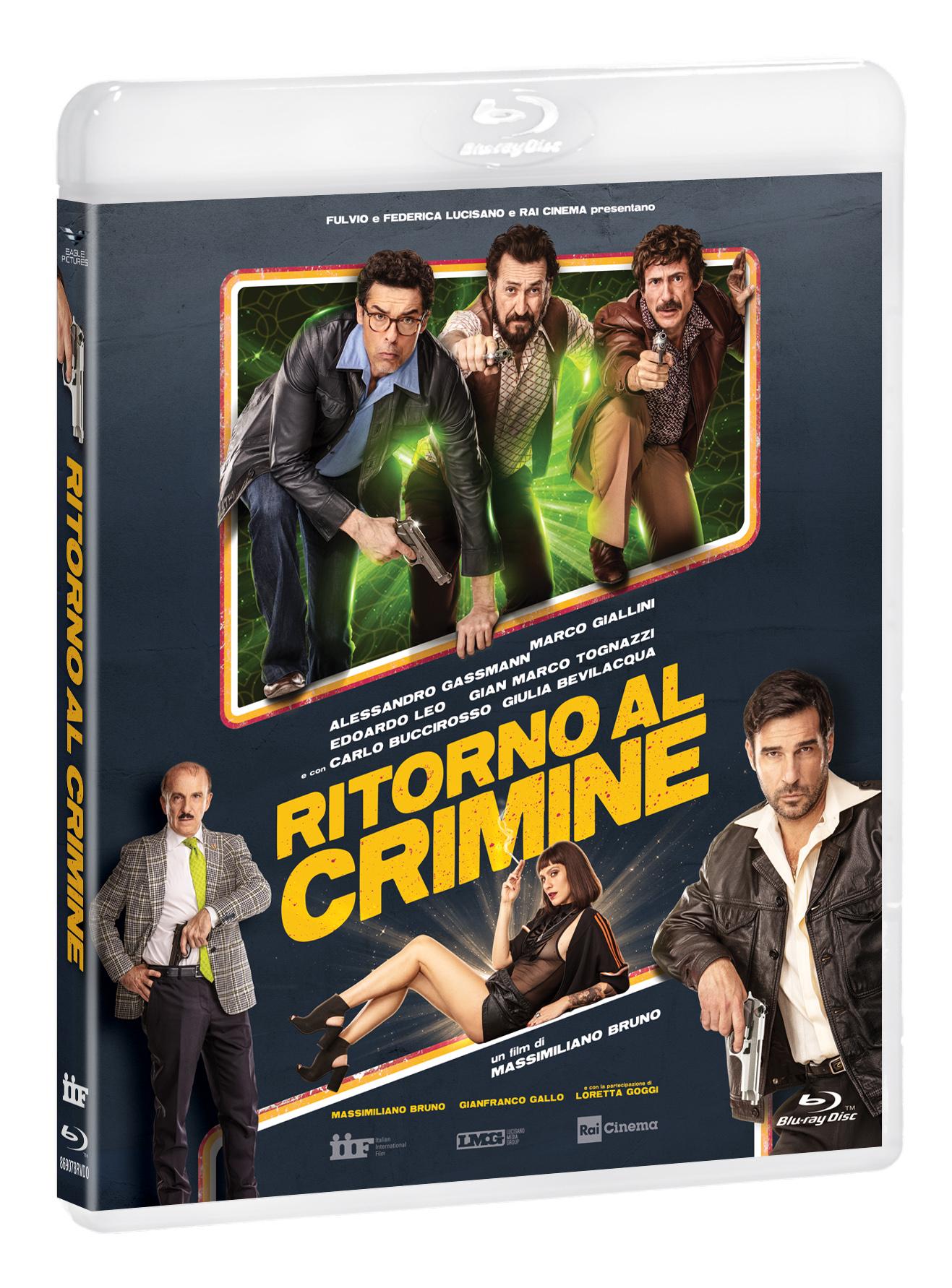 RITORNO AL CRIMINE - BLU RAY