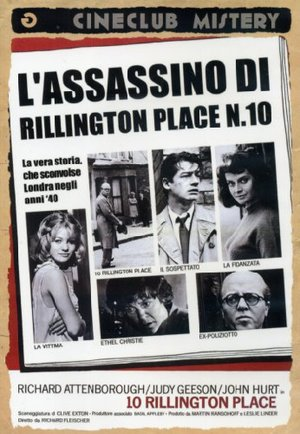 L'ASSASSINO DI RILLINGTON PLACE N.10 (DVD)
