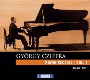 GYROGY CZIFFRA - CHOPIN, LISZT, BEETHOVEN, SCHUMANN (CD)