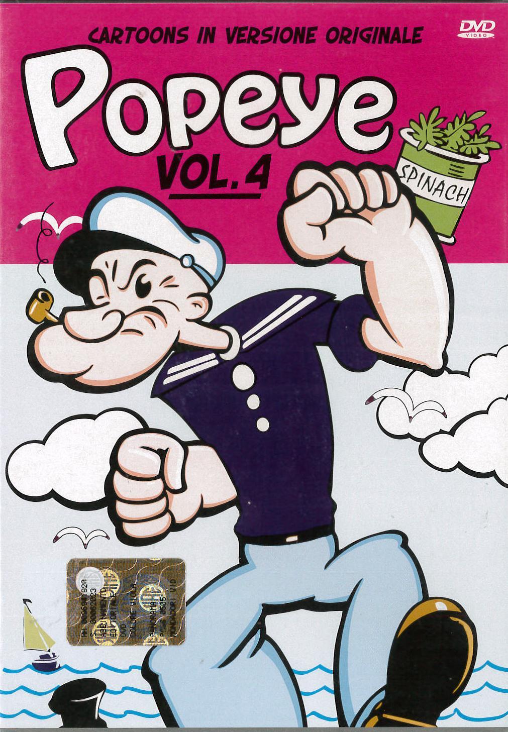 POPEYE VOL.4 (DVD)