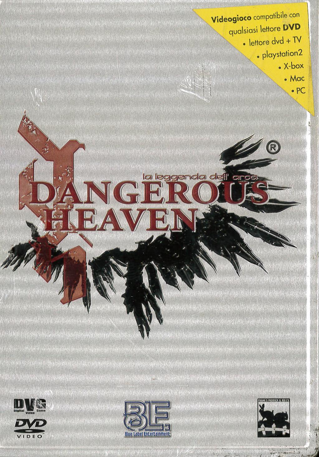 DANGEROUS HEAVEN VIDEOGIOCO DVG CON MANUALE. (DVD)