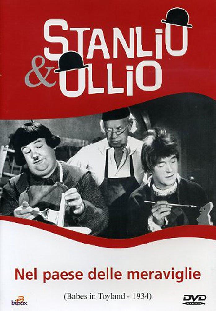 STANLIO E OLLIO - NEL PAESE DELLE MERAVIGLIE (DVD)