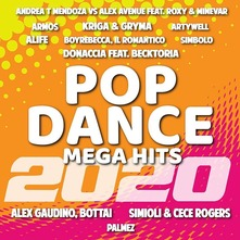 POP DANCE MEGA HITS - 2020 (CD)