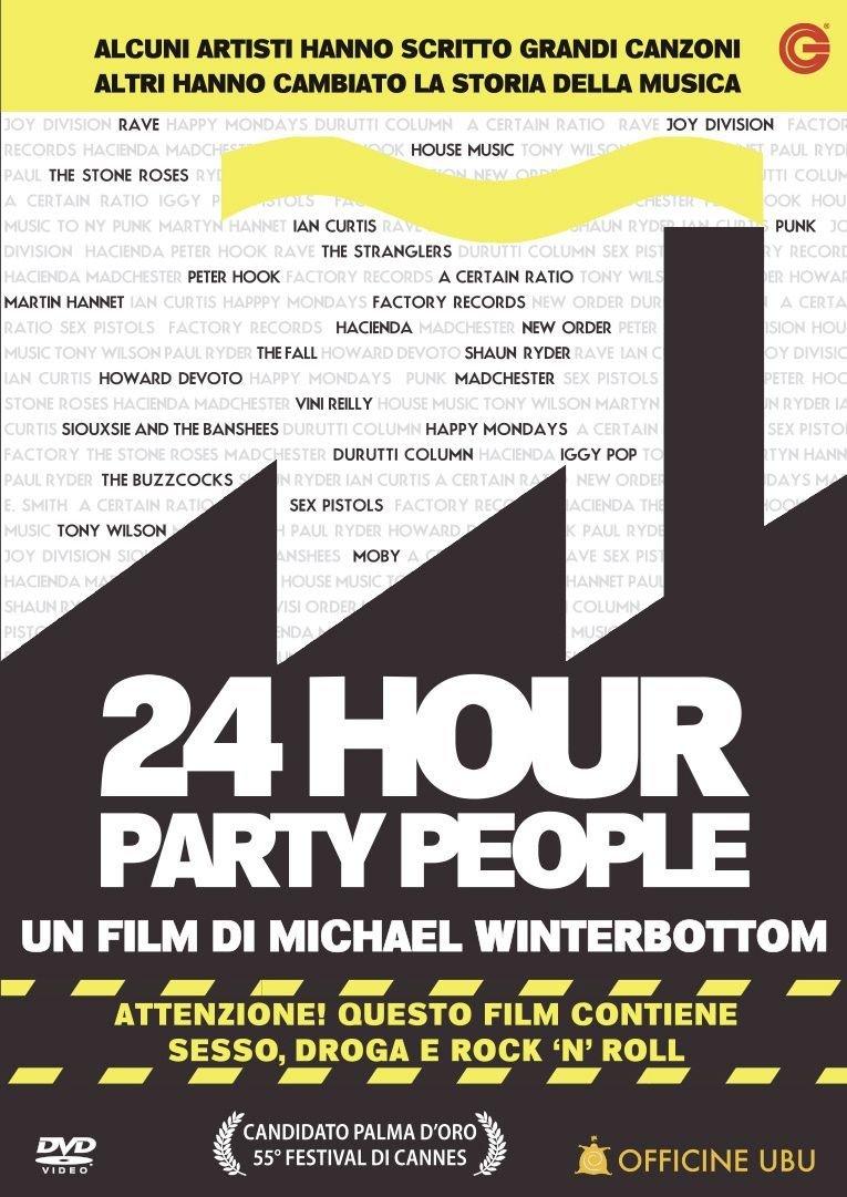 24 HOUR PARTY PEOPLE - USATO EX NOLEGGIO (DVD)