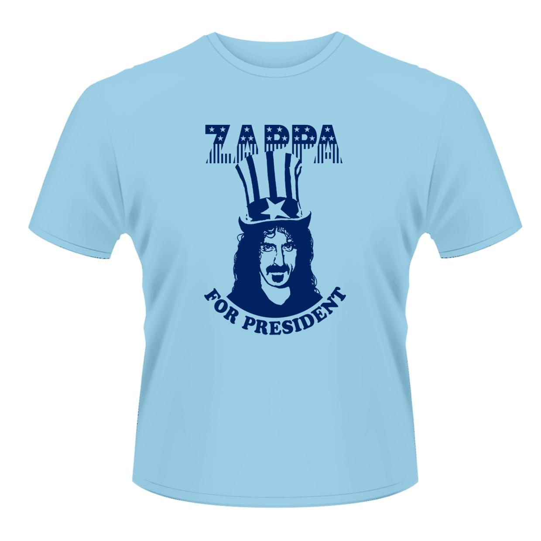 FRANK ZAPPA - ZAPPA FOR PRESIDENT (T-SHIRT UNISEX TG. M)
