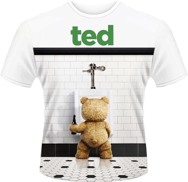 TED - POSTER (DYE SUB) (T-SHIRT UNISEX TG. M)
