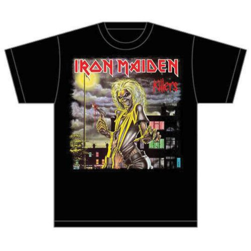 IRON MAIDEN - KILLERS COVER (T-SHIRT UNISEX TG. XXL)