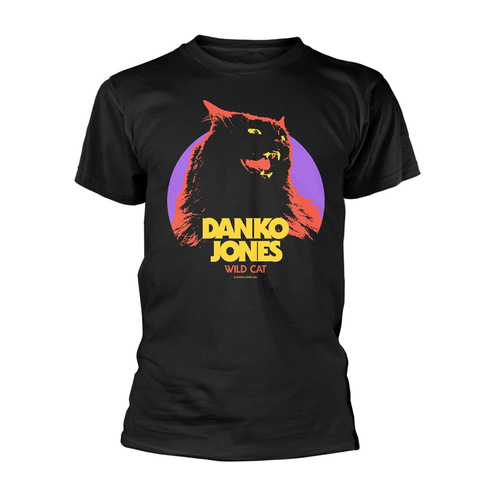 DANKO JONES - WILD CAT (T-SHIRT UNISEX TG. M)