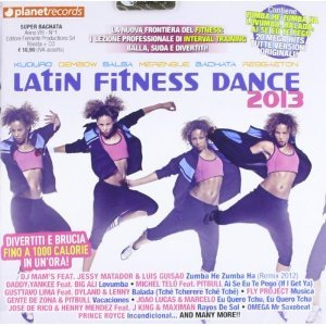 LATIN FITNESS DANCE 2013 -ESENTE (CD)