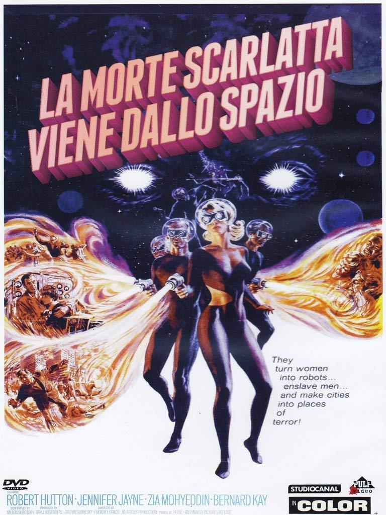 LA MORTE SCARLATTA VIENE DALLO SPAZIO (DVD)