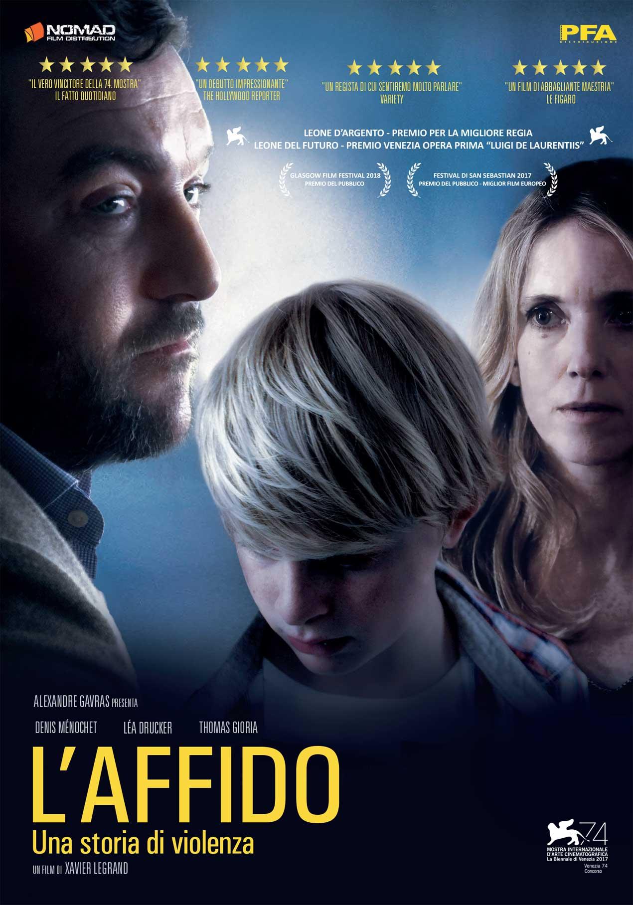 L'AFFIDO - UNA STORIA DI VIOLENZA (DVD)