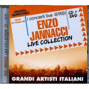 ENZO JANNACCI - LIVE COLLECTION. I CONCERTI LIVE @ RSI -CD+DVD (