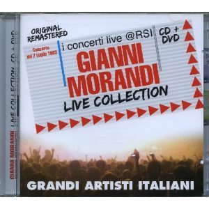 GIANNI MORANDI - LIVE COLLECTION. I CONCERTI LIVE @ RSI -CD+DVD
