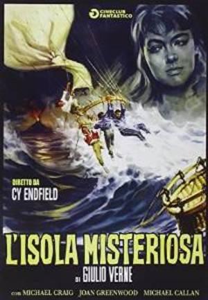 L'ISOLA MISTERIOSA (DVD)
