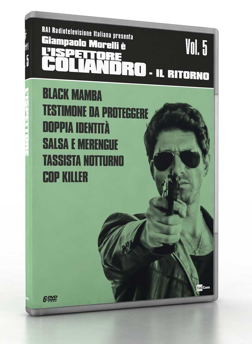 COF.L'ISPETTORE COLIANDRO - STAG.05 - IL RITORNO (6 DVD) (DVD)