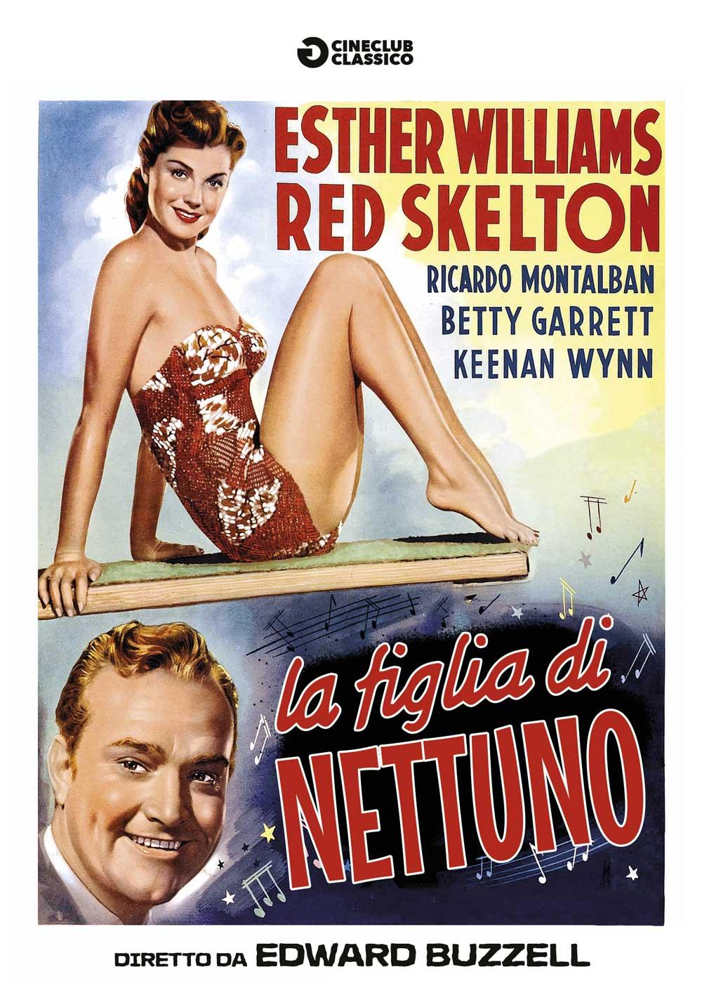 LA FIGLIA DI NETTUNO (DVD)