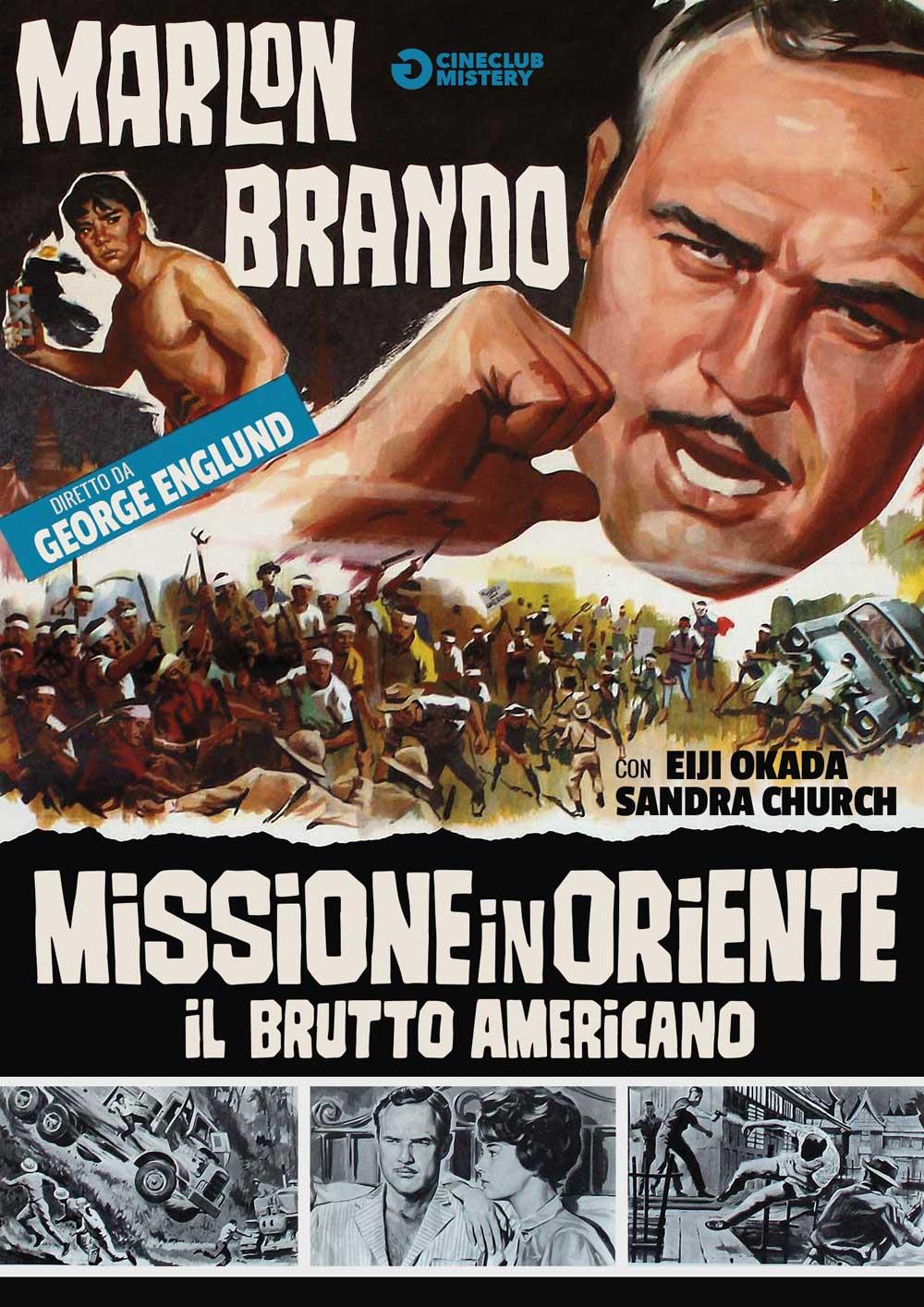 MISSIONE IN ORIENTE -RMX - IL BRUTTO AMERICANO (DVD)