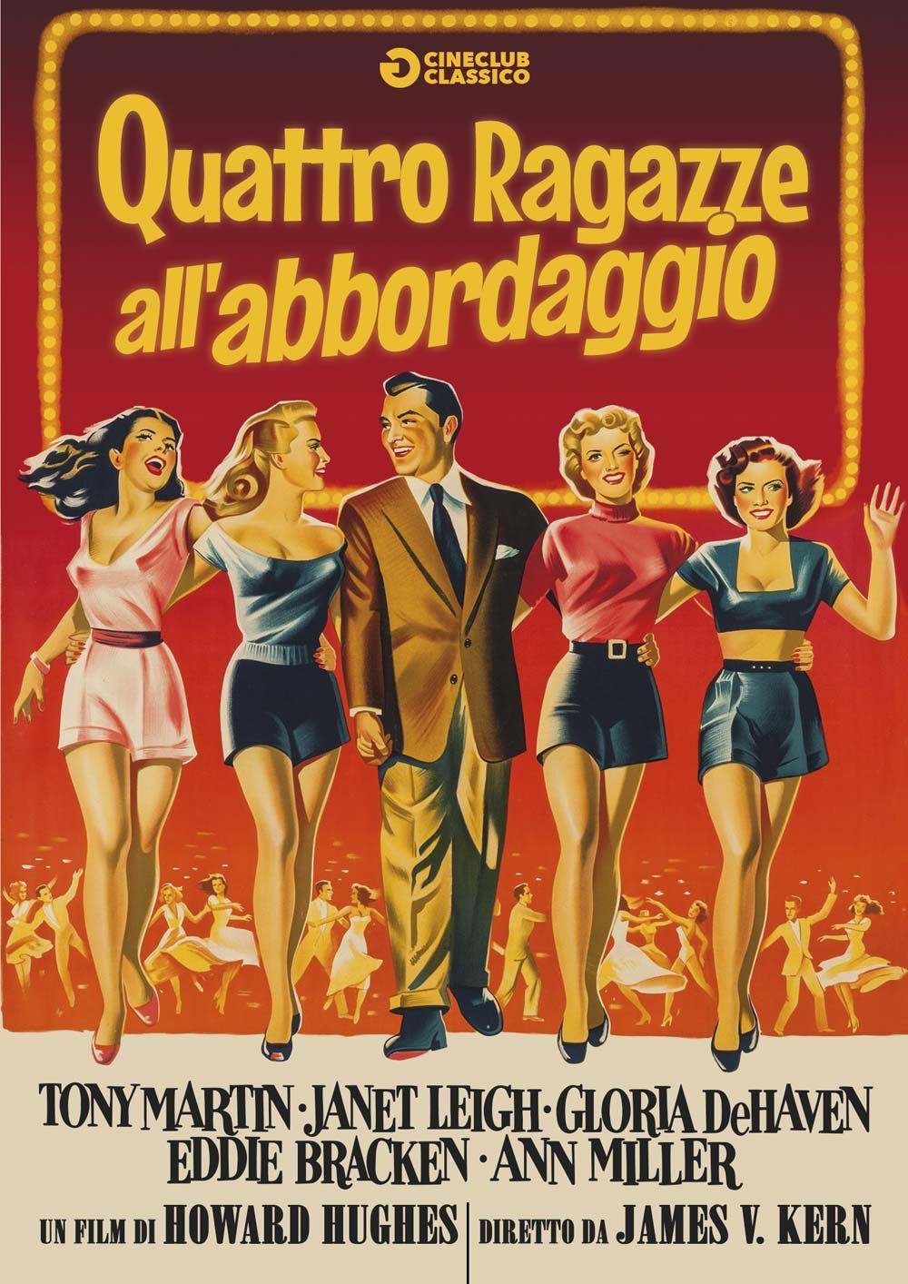 QUATTRO RAGAZZE ALL'ABBORDAGGIO (DVD)