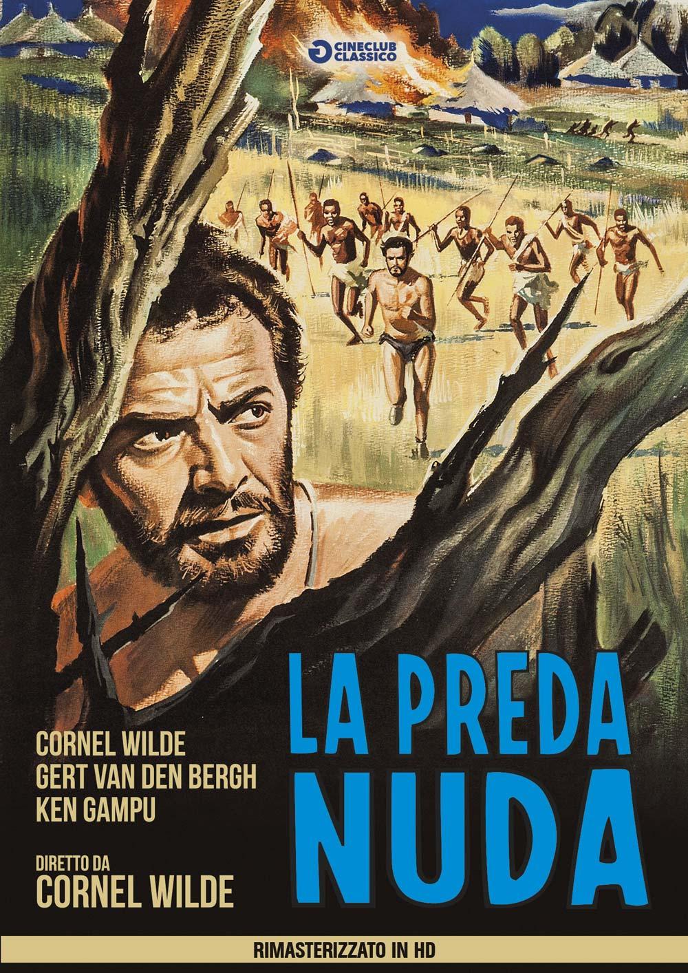 LA PREDA NUDA (DVD)