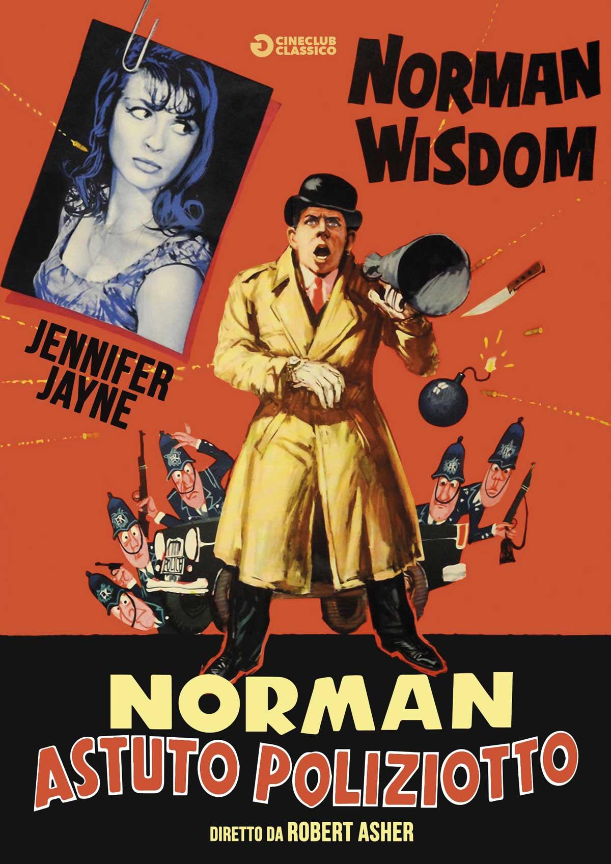 NORMAN ASTUTO POLIZIOTTO (DVD)