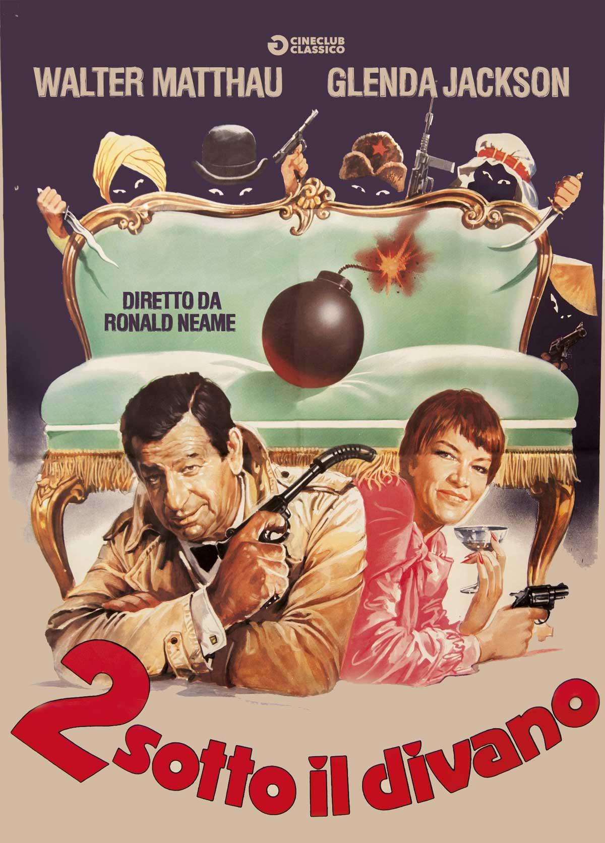 2 SOTTO IL DIVANO (DVD)
