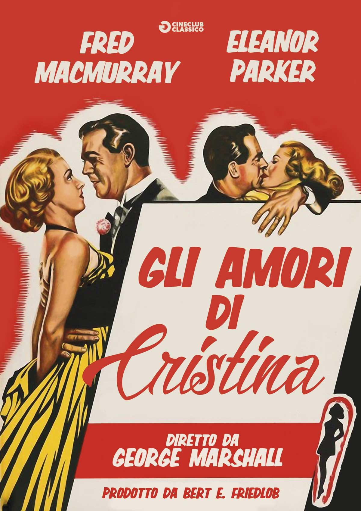 GLI AMORI DI CRISTINA (DVD)