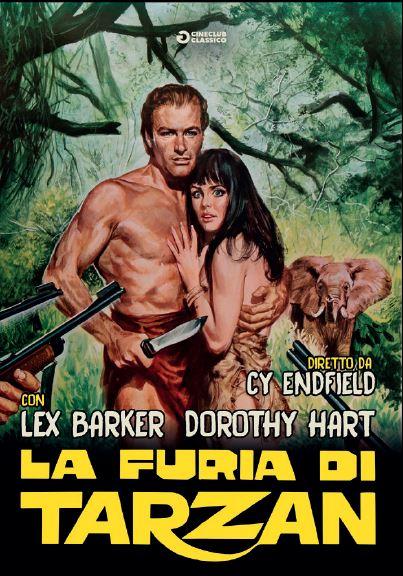 LA FURIA DI TARZAN (DVD)