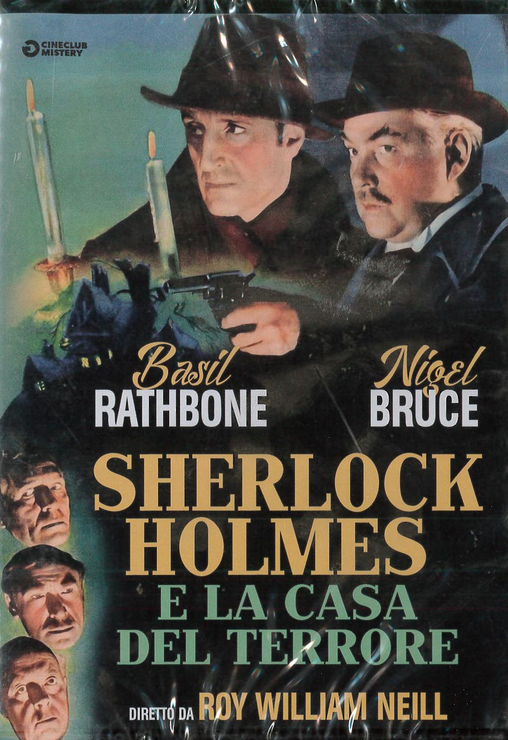 SHERLOCK HOLMES E LA CASA DEL TERRORE (DVD)