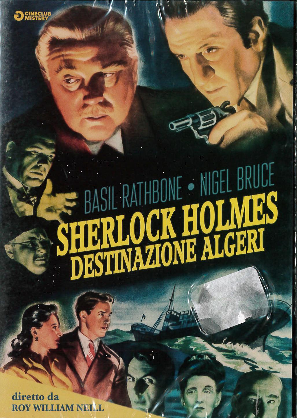 SHERLOCK HOLMES - DESTINAZIONE ALGERI (DVD)