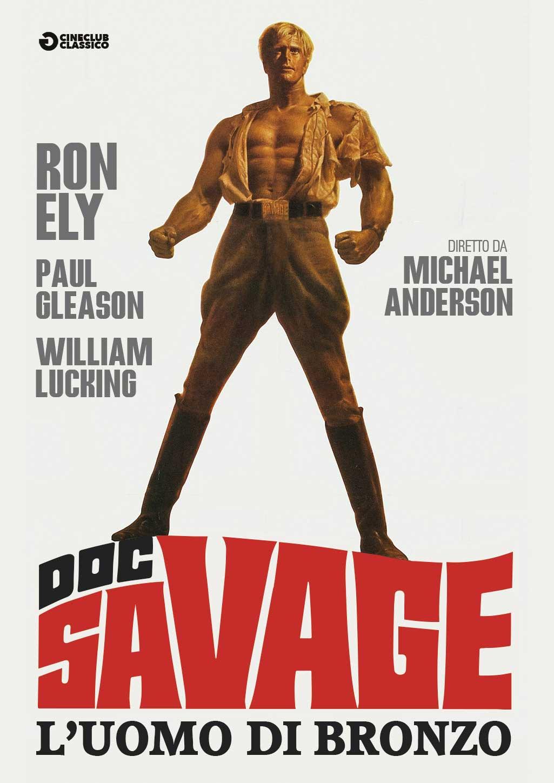 DOC SAVAGE L'UOMO DI BRONZO (DVD)