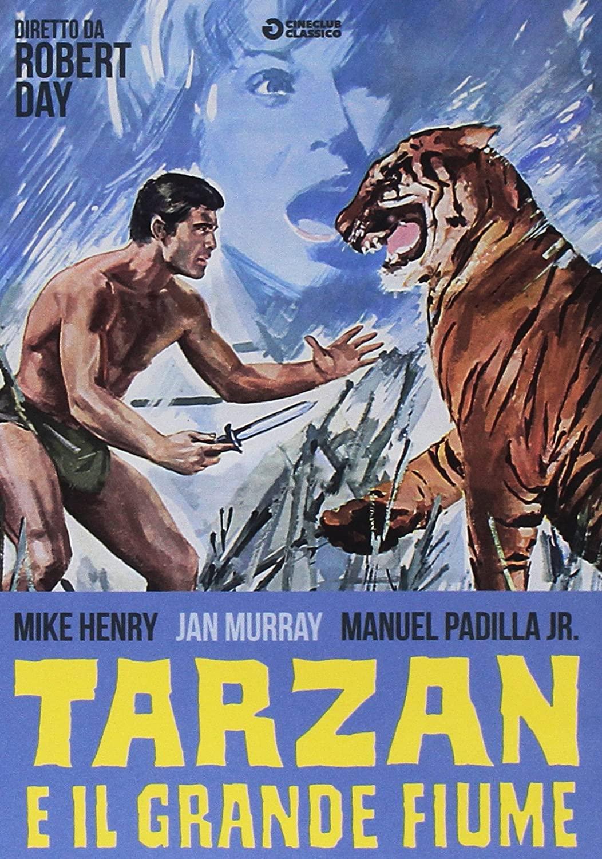 TARZAN E IL GRANDE FIUME (DVD)