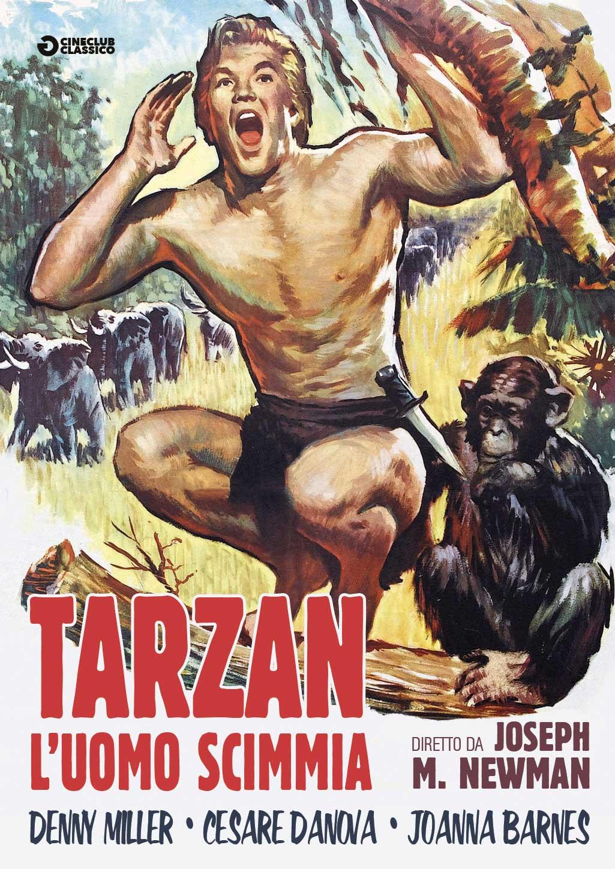 TARZAN L'UOMO SCIMMIA (DVD)