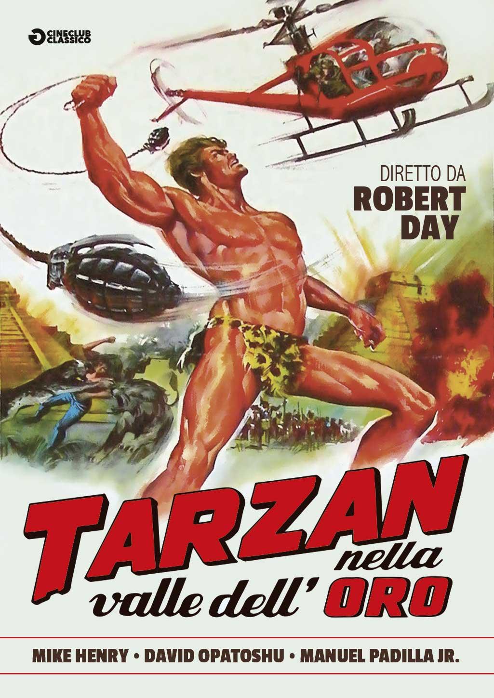 TARZAN NELLA VALLE DELL'ORO (DVD)