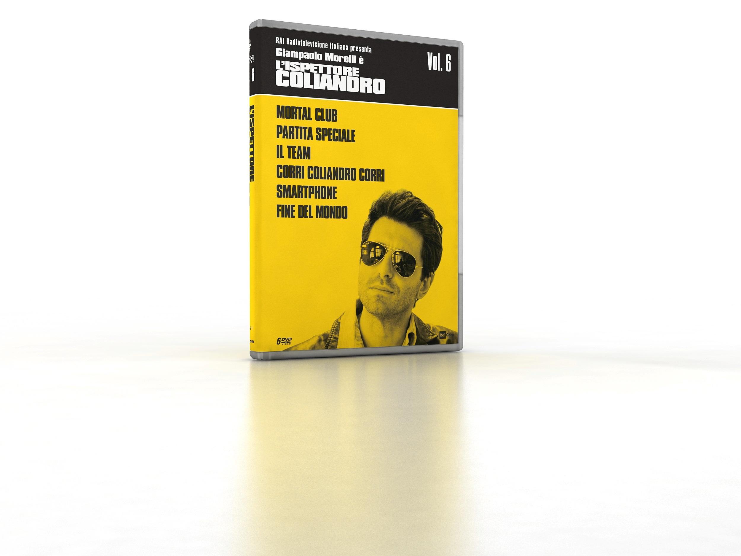 COF.L'ISPETTORE COLIANDRO - STAG.06 - IL RITORNO 2 (6 DVD) (DVD)